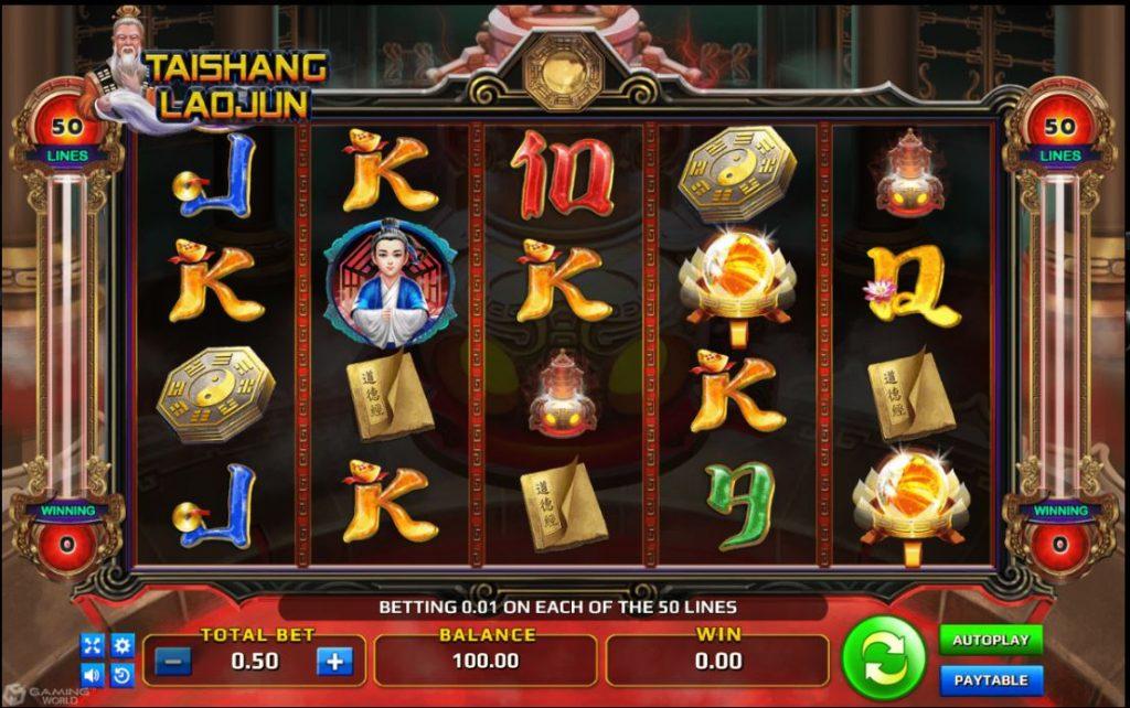 TAISHANG LAOJUN สิ่งที่ผู้เล่นทั้งหลายไม่ควรมองข้ามเกมนี้ไปเลยก็คงจะเป็นระบบการเล่นที่เอื้ออำนวยต่อผู้เล่นหน้าเก่าหรือใหม่ที่เข้ามาสัมผัสกับ Slot Online เกมนี้