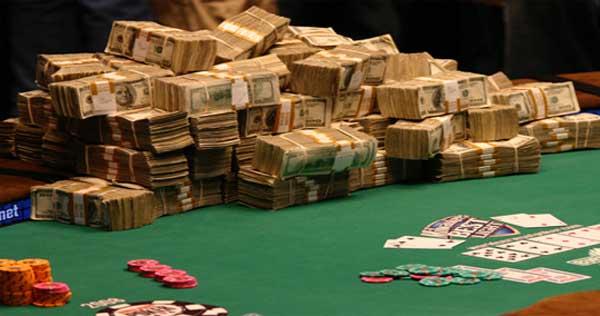 เงินที่ได้มาจากการเล่นคาสิโน