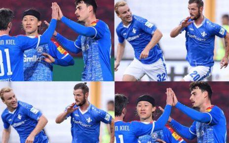 ฟุตบอลบุนเดสลีก้า 2 เยอรมัน 2021 กับ 2 คู่เน้นๆ อยู่โฮลสไตน์ คีล วางดาร์มสตัดท์