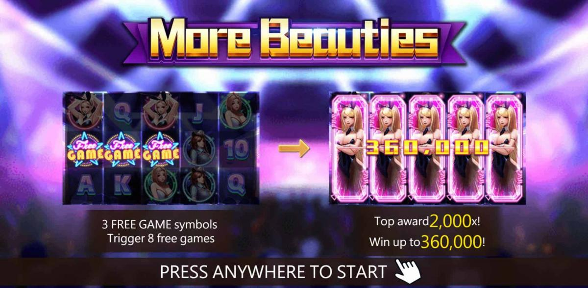 More Beauties เกมสล็อต น่ารัก น่าเล่น 2021